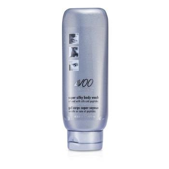 4V00 Distinct Man Super Silky Body Wash (Infused with Silk and Peptides) 250ml/8.45oz Men's Skincare