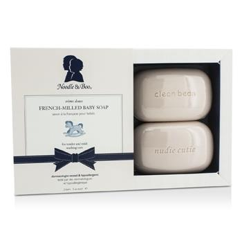 Noodle & Boo French-Milled Baby Soap 2bars /3oz each Skincare
