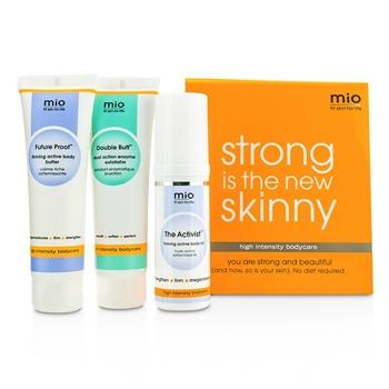 Mama Mio Strong Is The New Skinny Kit: The Activist 30ml + Double Buff 50ml + Future Proof 50ml 3pcs Skincare