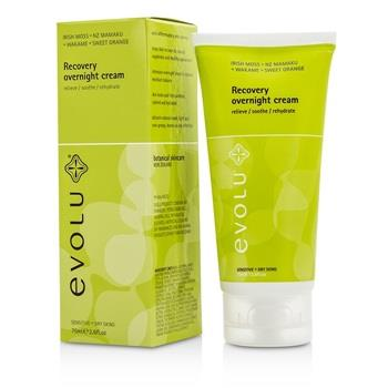 Evolu Recovery Overnight Cream (Sensitive & Dry Skin) 75ml/2.6oz Skincare