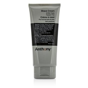 Anthony Logistics For Men Shave Cream 90ml/3oz Men's Skincare
