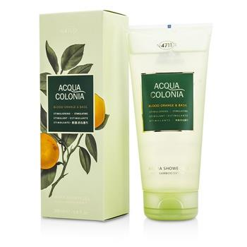 4711 Acqua Colonia Blood Orange & Basil Aroma Shower Gel 200ml/6.8oz Men's Fragrance