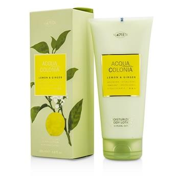 4711 Acqua Colonia Lemon & Ginger Moisturizing Body Lotion 200ml/6.8oz Men's Fragrance