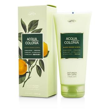 4711 Acqua Colonia Blood Orange & Basil Moisturizing Body Lotion 200ml/6.8oz Men's Fragrance
