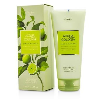 4711 Acqua Colonia Lime & Nutmeg Moisturizing Body Lotion 200ml/6.8oz Men's Fragrance