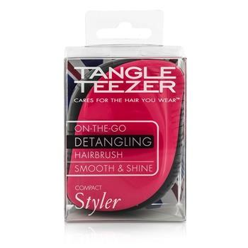 Tangle Teezer Compact Styler On-The-Go Detangling Hair Brush – # Pink Sizzle 1pc Hair Care
