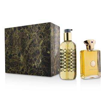 Amouage Dia Coffret: Eau De Parfum Spray 100ml/3.4oz + Bath & Shower Gel 300ml/10oz 2pcs Men's Fragrance