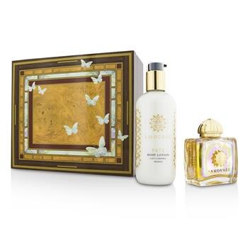 Amouage Fate Coffret: Eau De Parfum Spray 100ml/3.4oz + Body Lotion 300ml/10oz 2pcs Ladies Fragrance