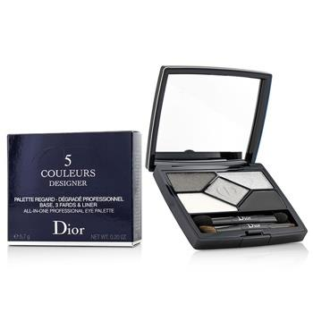 Christian Dior 5 Color Designer All In One Professional Eye Palette – No. 008 Smoky Design 5.7g/0.2oz Make Up