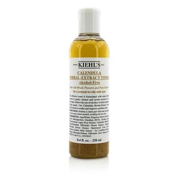 Kiehl's Calendula Herbal Extract Alcohol-Free Toner – For Normal to Oily Skin Types 250ml/8.4oz Skincare