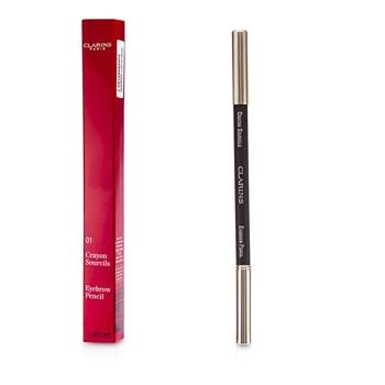 Clarins Eyebrow Pencil - #01 Dark Brown 1.1g/0.04oz Make Up