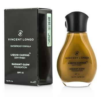 Vincent Longo Liquid Canvas Dew Finish Waterproof Foundation SPF 15 - Rich Sienna 30ml/1oz Make Up