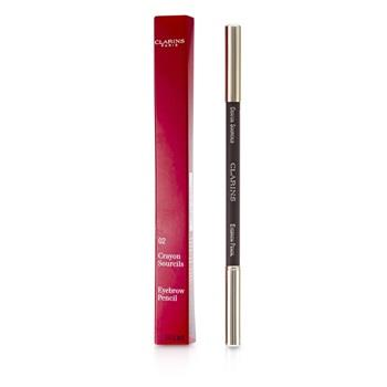 Clarins Eyebrow Pencil - #02 Light Brown 1.3g/0.045oz Make Up