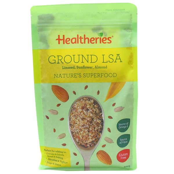 Healtheries LSA Ground (Linseed/Sunflower/Almond) 400gm
