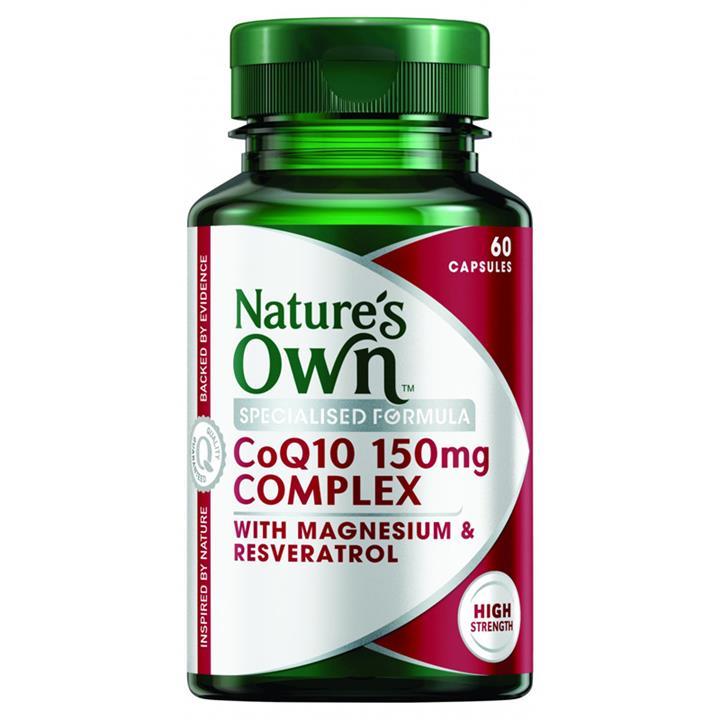 Nature's Own CoQ10 150mg Complex 60 capsules