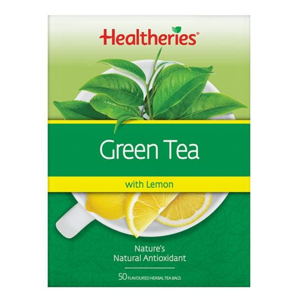 Healtheries Green Tea with Lemon 50 teabags