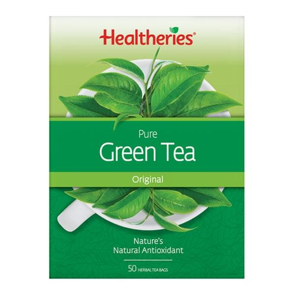 Healtheries Pure Green Tea 50 teabags