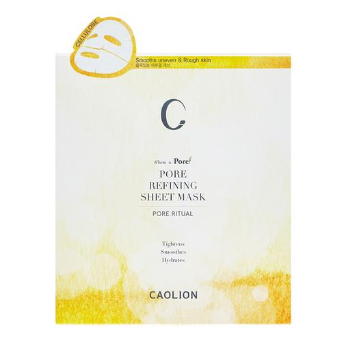 CAOLION Pore Refining Sheet Mask (6 pc) 22ml