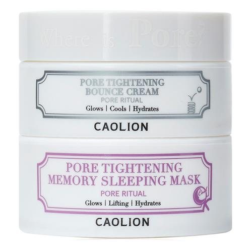 CAOLION Pore Tightening Day & Night Glowing Duo 50g