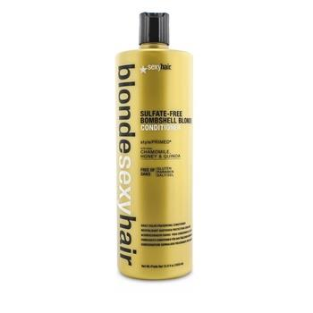 Sexy Hair Concepts Blonde Sexy Hair Sulfate-Free Bombshell Blonde Conditioner (Daily Color Preserving) 1000ml/33.8oz Hair Care