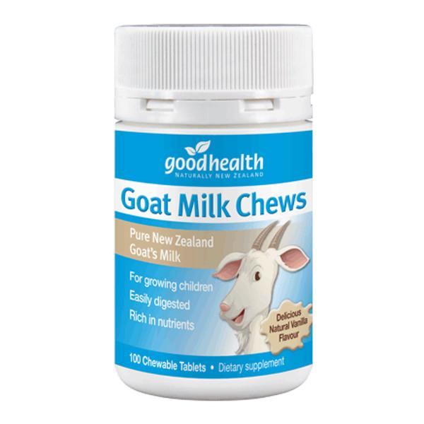 Good Health Goat Milk Chews 100 chewable tablets