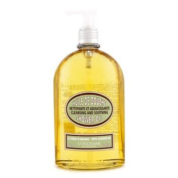 L'Occitane Almond Cleansing & Soothing Shower Oil 500ml/16.7oz Skincare