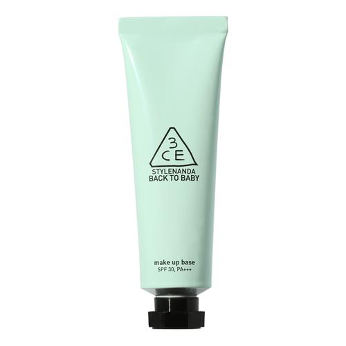 3CE Back To Baby Make Up Base Mint Green