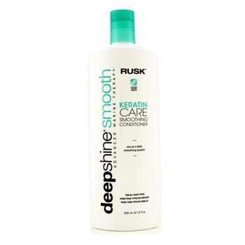 Rusk Deepshine Smooth Keratin Care Smoothing Conditioner 355ml/12oz Hair Care