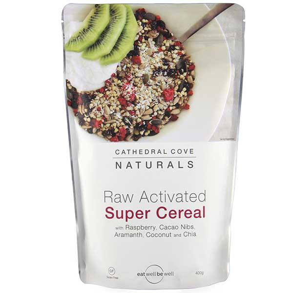 Cathedral Cove Naturals Raw Activated Super Cereal 400gm