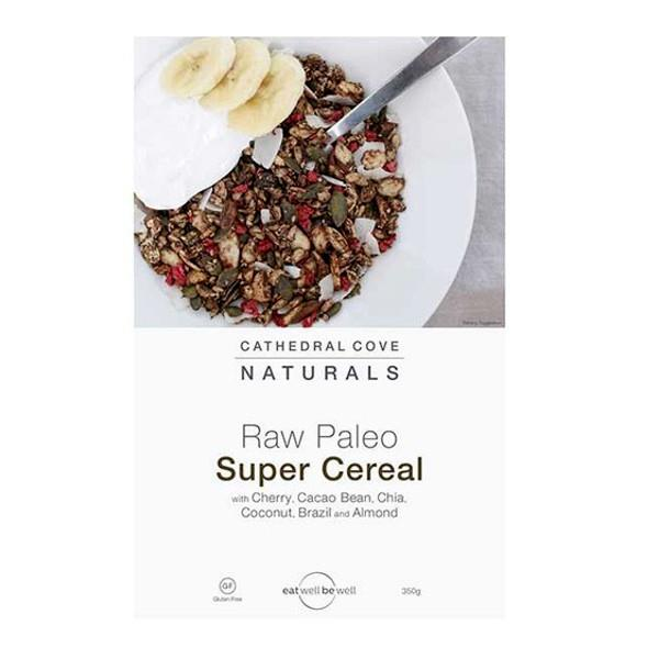 Cathedral Cove Naturals Raw Paleo Super Cereal Cherry & Cacao Bean 350gm