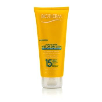 Biotherm Fluide Solaire Wet Or Dry Skin Melting Sun Fluid SPF 15 For Face & Body - Water Resistant 200ml/6.76oz Skincare