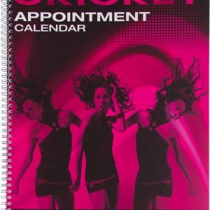Cricket Appointment Book 4 Column 130 pages