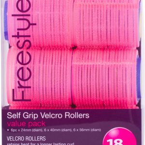 Freestyle Velcro Rollers Value Pack18Pc