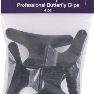 Freestyle Butterfly Clips 4Pc
