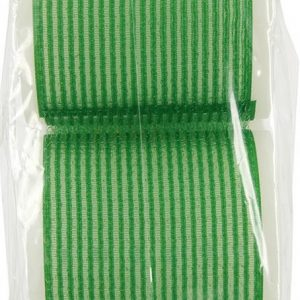 Hair FX Velcro Rollers Green 60mm Pack of 6