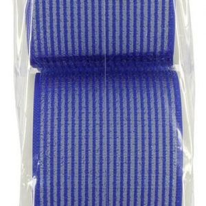 Hair FX Velcro Rollers Blue 76mm Pack of 6