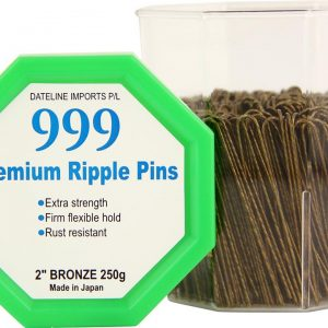 999 Premium Pin Co. Ripple Pins 2″ Bronze 165g Tub