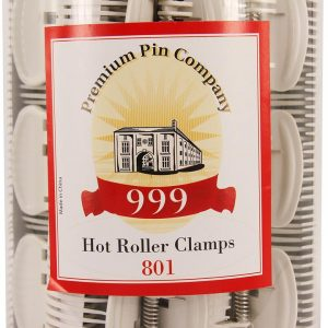 999 Premium Pin Co. Hot Roller Clamp Creme 24 Pk