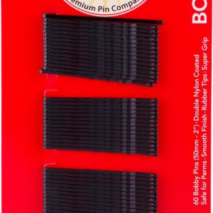 999 Bobby Pins 2″ Black 60 Pack