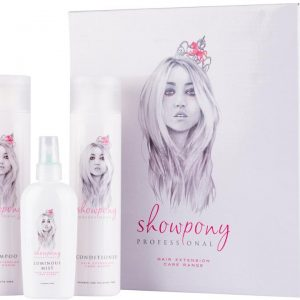 Showpony Hair Extension Care Pack (Sulphate Free Shampoo, Conditioner
