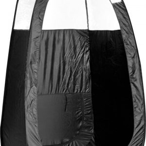 Tan.Tent – Black and 1/3 Clear