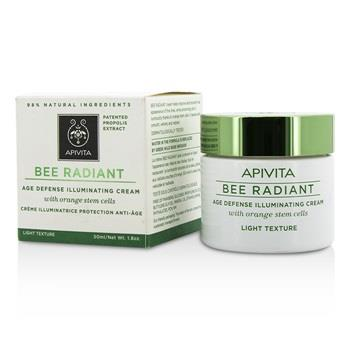 Apivita Bee Radiant Age Defense Illuminating Cream – Light Texture 50ml/1.76oz Skincare
