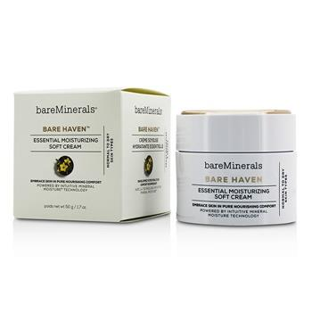 BareMinerals Bare Haven Essential Moisturizing Soft Cream - Normal To Dry Skin Types 50g/1.7oz Skincare