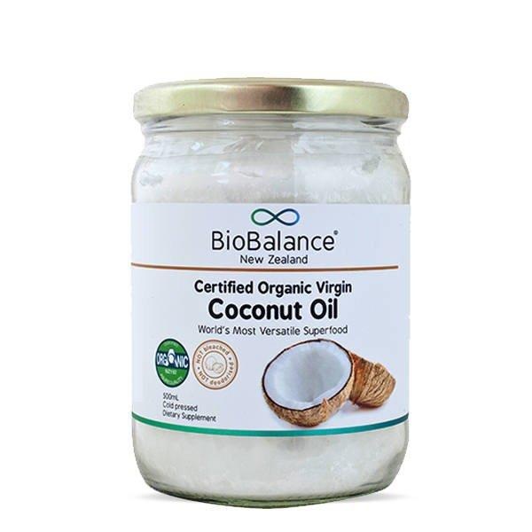 BioBalance Virgin Coconut Oil Certified Organic 225ml