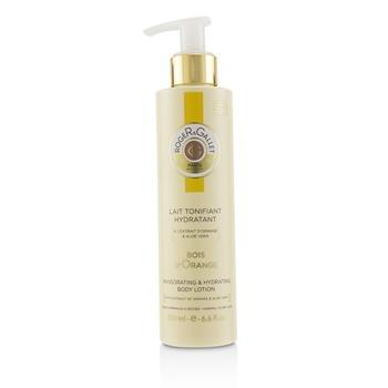 Roger & Gallet Bois d' Orange Invigorating & Hydrating Body Lotion (with Pump) 200ml/6.6oz Ladies Fragrance
