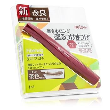 Dejavu Fiberwig Ultra Long Mascara - Natural Brown 7.2g/0.25oz Make Up