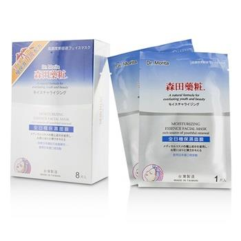 Dr. Morita Moisturizing Essence Facial Mask  - Rich Source Of Youthful Renewal 8pcs Skincare
