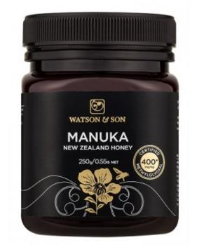 400+ MGO 250g Black Label Manuka Honey – Watson & Son