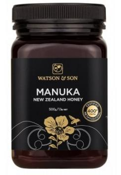 400+ MGO 500g Black Label Manuka Honey – Watson & Son