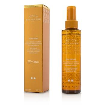 Esthederm Sun Bronz Dry Oil Care 2 Suns Active Age Protection Sublimating Tan - Moderate Sun - For Body & Hair 150ml/5oz Skincare